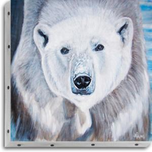 Tableau UNO DKO - Ours blanc