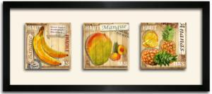 Tableau TRIO DKO - 3 Fruits Exotiques