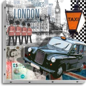 Tableau UNO DKO -   London Cab